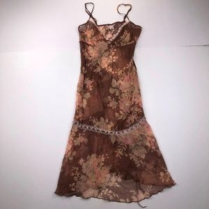 Victoria's Secret Size XS Floral Sleepwear Dress